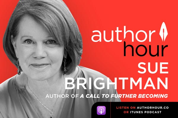 The Author Hour Podcast featuring Sue Brightman