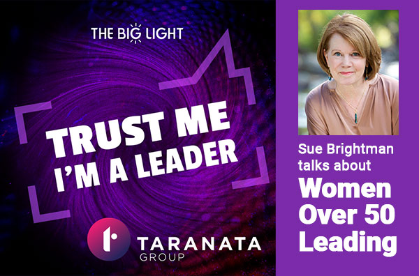 Sue Brightman on Trust Me I'm a Leader Podcast
